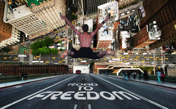 Road To Freedom - Digital Art